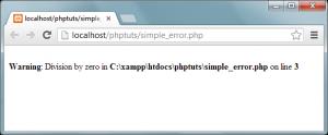 PHP fel